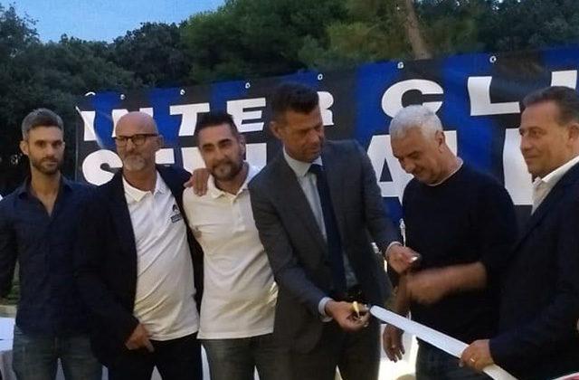 L'inaugurazione dell'Inter Club Senigallia con Evaristo Beccalossi