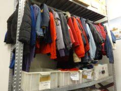 Il centro raccolta indumenti usati
