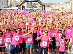 """I partecipanti della precedente edizione di """"Io corro per la vita"""", a Senigallia"""