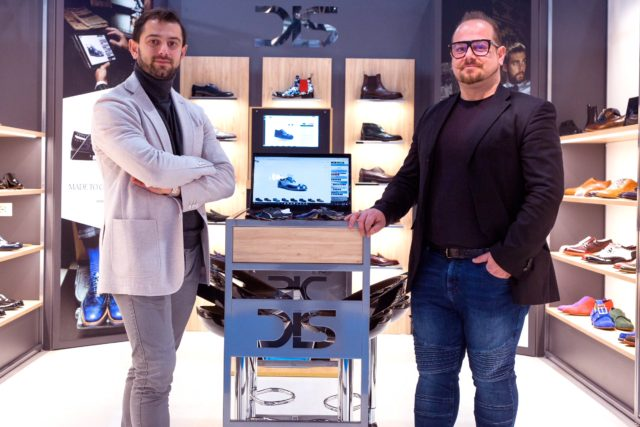 Andrea e Francesco Carpineti di Design Italian Shoes