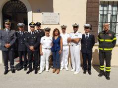 Al centro la sindaca Signorini con il Primo Luogotenente Rocco Polimeno