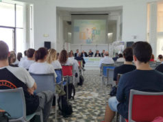La presentazione della fase finale nazionale dei campionati studenteschi di calcio a 11 che si terrà a Senigallia