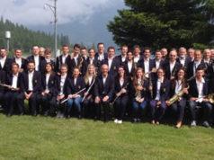 La filarmonica Salassese che si esibirà a Falconara Alta nel concerto di fine estate