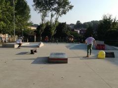 Lo skatepark di viale dei Gerani a Senigallia