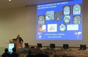 Fred Gentili al congresso internazionale di Neurochirurgia tenutosi nei giorni scorsi alla Politecnica delle Marche