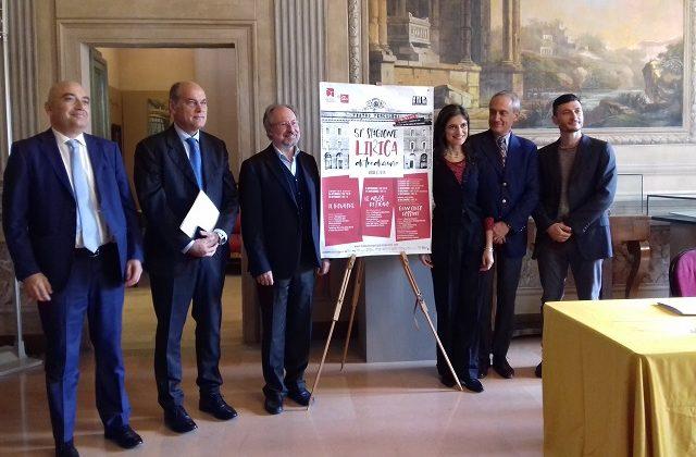 Presentata a Jesi la 51esima stagione Lirica della Fondazione Pergolesi Spontini