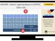 Il sistema di voto online alla Politecnica delle Marche