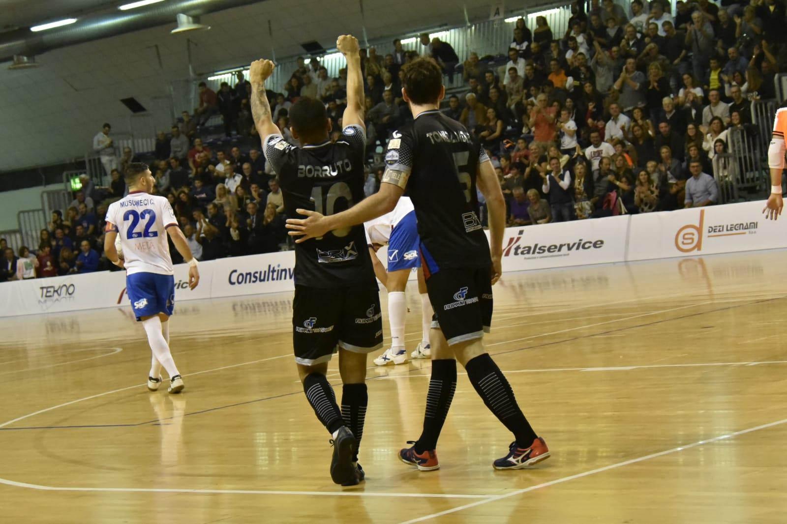 Futsal, Pesaro e Acqua&Sapone conoscono solamente la parola vittoria