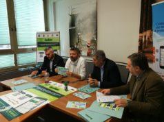La conferenza stampa di presentazione dei nuovi servizi di Anconambiente