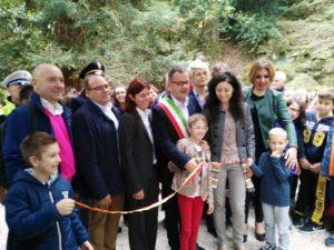 L'inaugurazione a Fontemagna