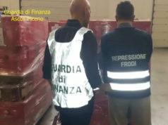 La Guardia di Finanza impegnata nell'operazione Falsicchio