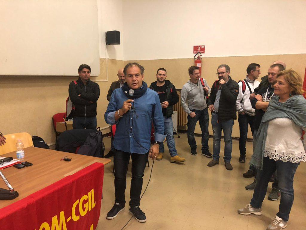 Tiziano Beldomenico segretario generale Fiom Marche