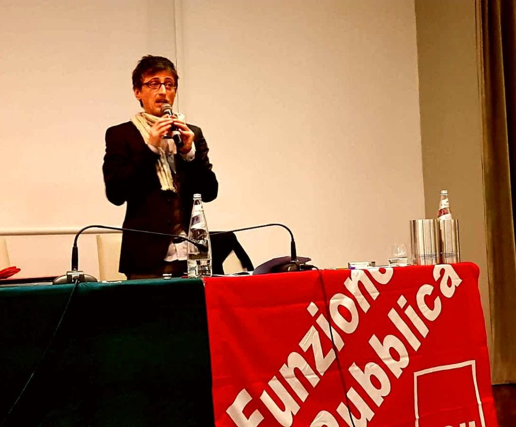 Matteo Pintucci Fp Cgil Marche
