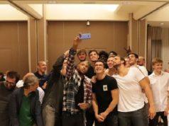 Selfie di gruppo per la Termoforgia Jesi