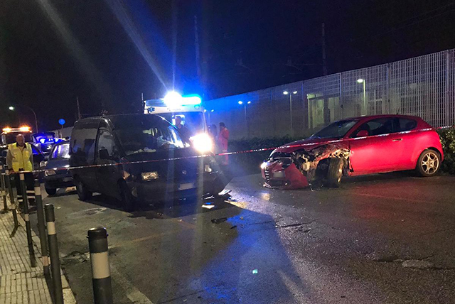 L'incidente mortale in via Baldelli