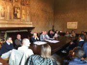 La riunione con i commercianti in Comune