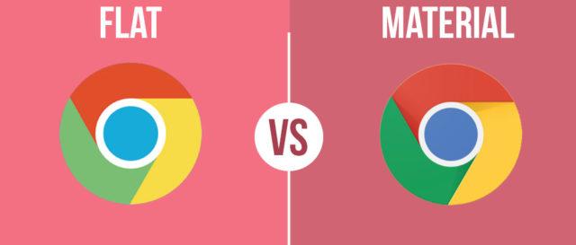 La differenza tra Flat e Material Design