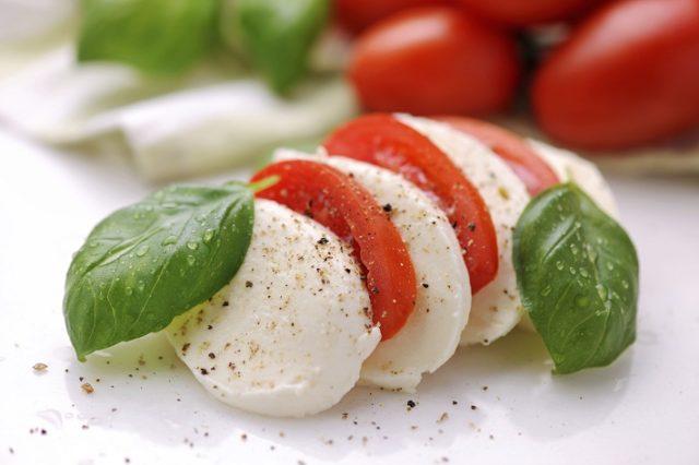 La mozzarella italiana