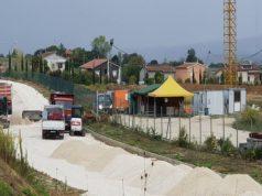 Uno dei cantieri aperti a Osimo
