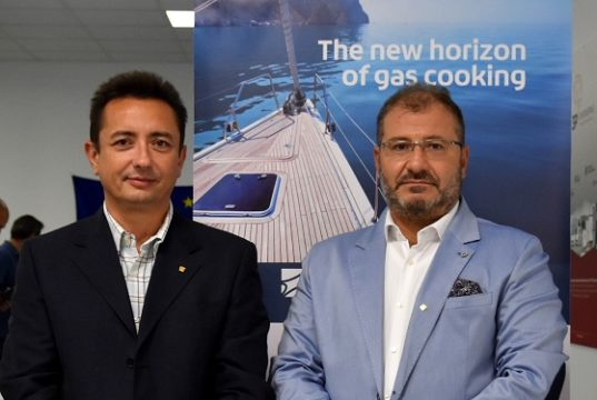 Michele Marcantoni a sinistra e Rosalino usci a destra di 3P Engineering