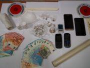 Droga e contanti sequestrati