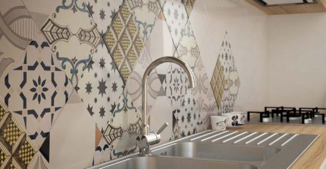 Piastrelle effetto maiolica Ceramiche Musa