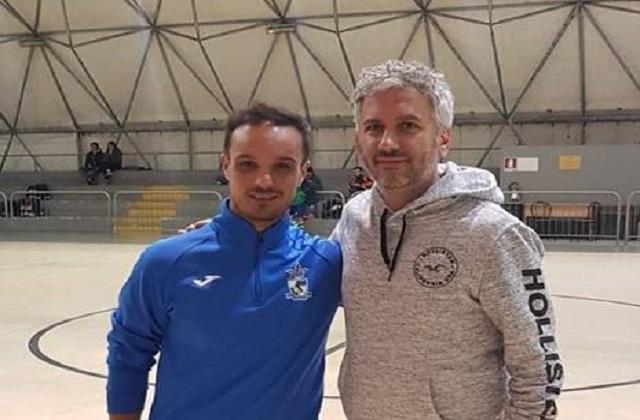 Andrea Pizzichini e Massimiliano Bellarte