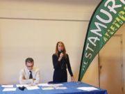 Donatella Montanari e Simone Rocchetti della Sef Stamura presentano la V Mezza Maratona