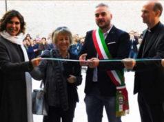 Francesca Merloni, Marisa Bianchini, Gabriele Santarelli e mons. Stefano Russo