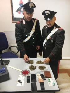 Il materiale sequestrato a Senigallia dai Carabinieri