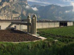 Il biodigestore di Faedo, località Cadino (foto presa dal sito di Bioenergia Trentino)