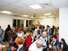 I festeggiamenti per il primo anniversario del centro di solidarietà di Senigallia