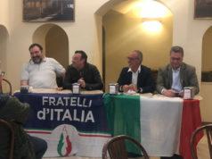 La conferenza di Fratelli d'Italia Fabriano