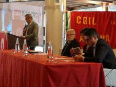 L'intervento del segretario provinciale Cgil Ancona Marco Bastianelli