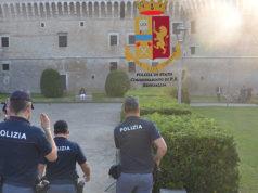 I controlli anti droga alla Rocca di Senigallia da parte della polizia