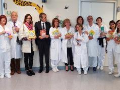 Oltre 600 libri donati al reparto di pediatria dell'ospedale di Senigallia
