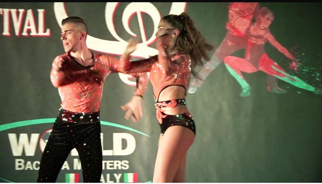 Chiara e Manuel, due fratelli di Castelfidardo ai campionati mondiali di danza