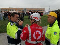 L'esercitazione e l'evacuazione all'istituto Corinaldesi di Senigallia
