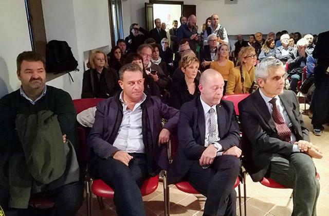 Il pubblico alla presentazione della mostra su Rodchenko