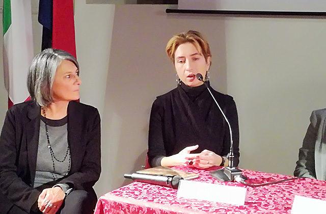 La curatrice e vicepresidente del MAMM Anna Zaytseva