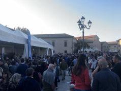 Gli stand di Pane Nostrum in piazza del Duca