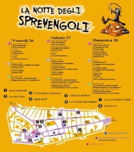 Il programma della Notte degli Sprevengoli a Ostra