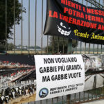 La protesta degli animalisti