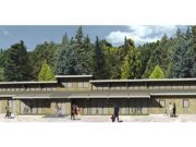 La scuola dell'infanzia in località Conce ad Arcevia