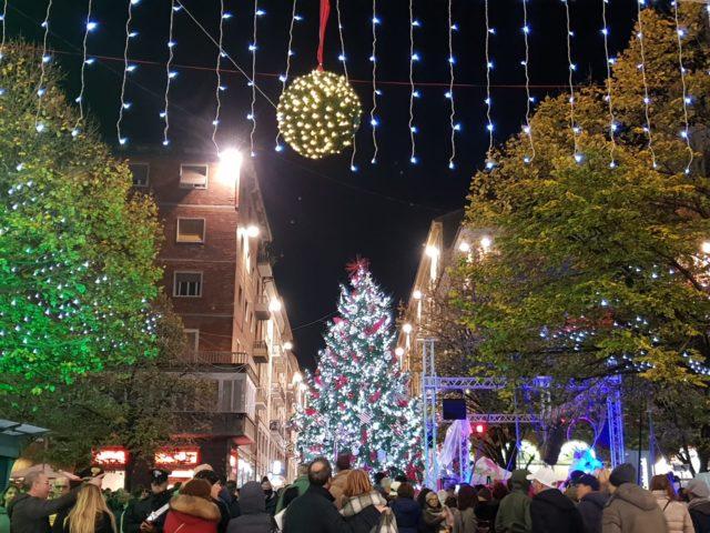 Natale ad Ancona: dal 28 novembre le luminarie, in stand by ruota e mercatini