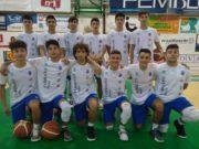 La formazione Under 16 Eccellenza della Basket School Fabriano/Janus Fabriano