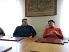L'assessore al turismo Fausto Pirchio (a sinistra) e il sindaco di Loreto Paolo Niccoletti