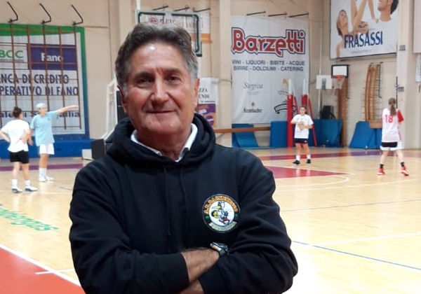 Giulio Tonucci, coach della BK2000 MyCicero Senigallia