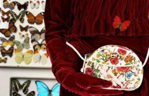 Gucci esagera col rosso vellutato, per un'aura nobile