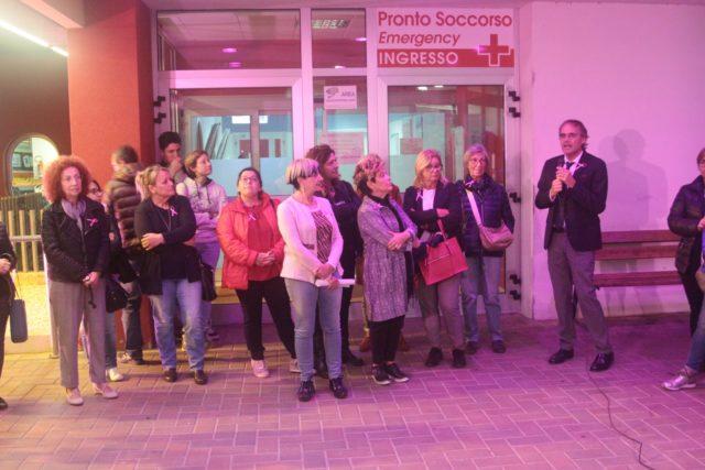 L'Ottobre Rosa all'Ospedale Profili di Fabriano